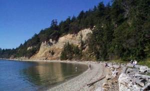 Camano Island State Park Beach