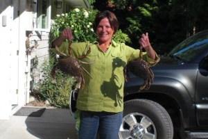 Camano Island Crabbing -- Love it!